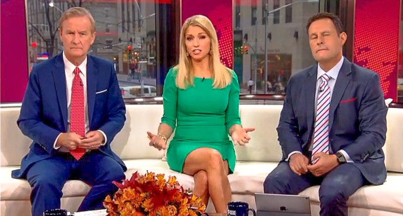 Ainsley Earhardt, center (Fox News screenshot)
