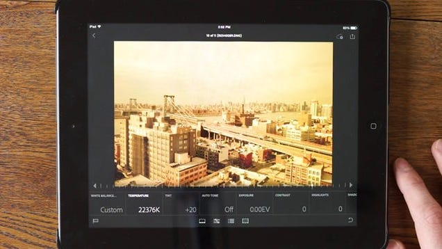 Adobe Lightroom Mobile Review: Edit RAW Photos On Your ...