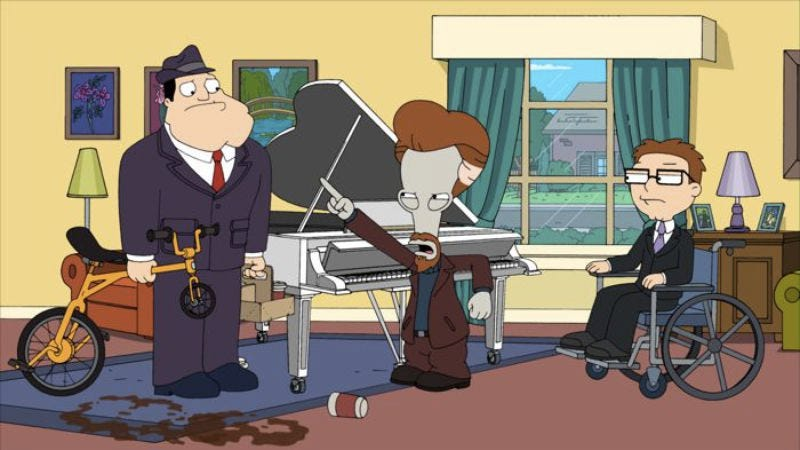 """Illustration for article titled American Dad: """"Wheels & The Legman And The Case Of Grandpa's Keys"""""""