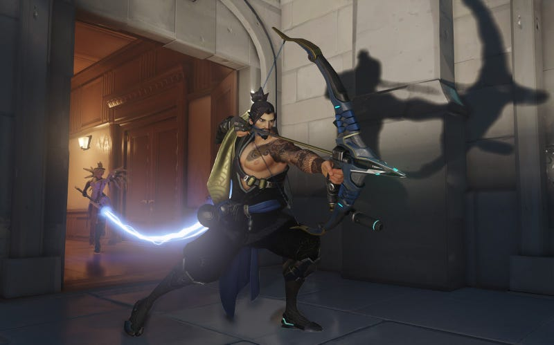 Illustration for article titled Overwatch Fans Can't Stop Talking About Hanzo's Dainty Ankles