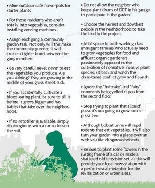 Illustration for article titled Making Your Block Greener
