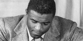 Jackie Robinson (STR/Getty Images)
