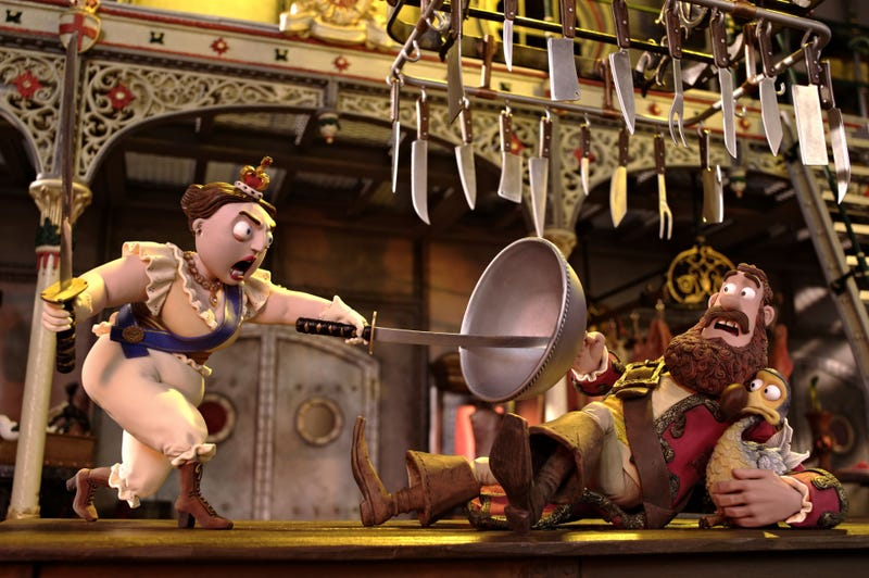 Illustration for article titled In Pirates!, Aardman's puppets celebrate the power of pretending
