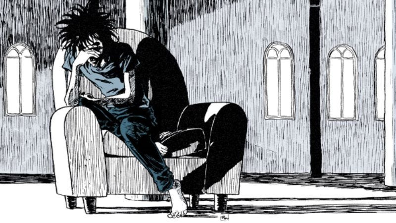 Illustration for article titled Our book-by-book group Sandman discussion resumes January 15 with Brief Lives