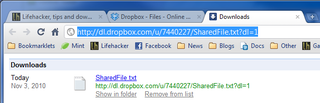Illustration for article titled Make Dropbox Public Links Download Files Instead of Viewing Them In-Browser