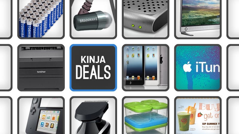 Illustration for article titled The Best Deals for August 28, 2014