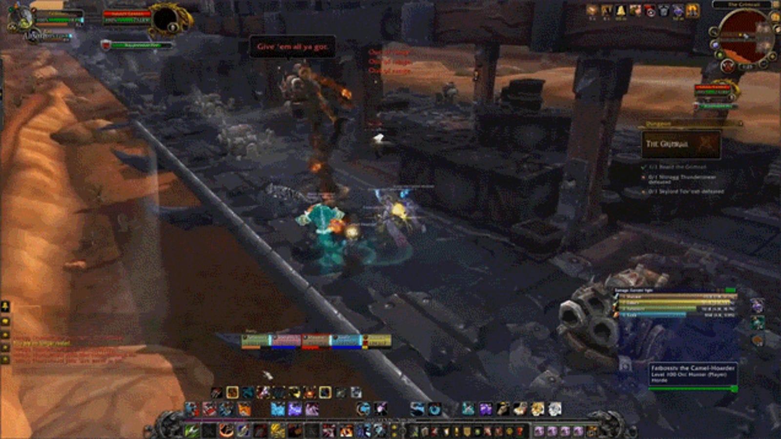 La nueva mazmorra de World of Warcraft es un gigantesco tren en marcha