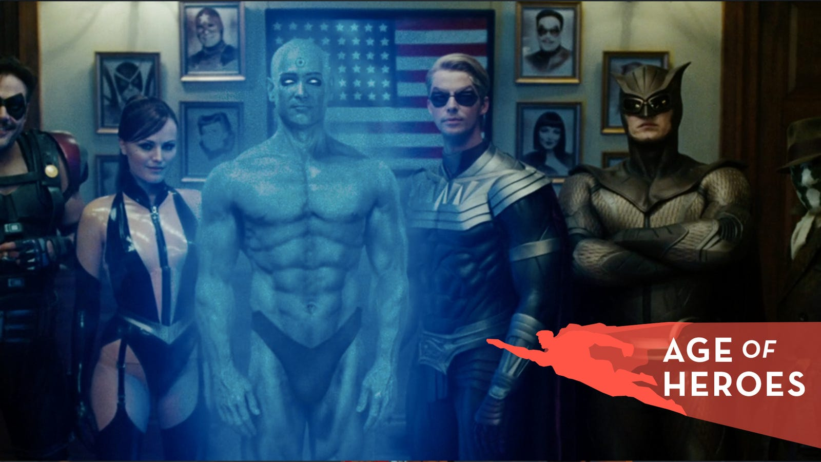 The Watchmen movie proves you can be faithful to a comic and still
