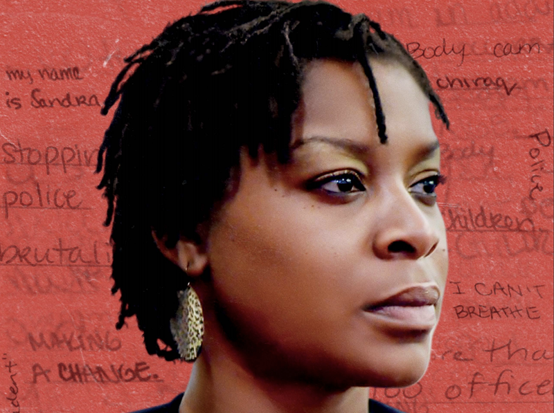 Illustration for article titled Sandy Still Speaks: New Sandra Bland Doc Uses Her Voice to Uncover the Still-Unknown Tale of a Fatal Police Stop in Texas