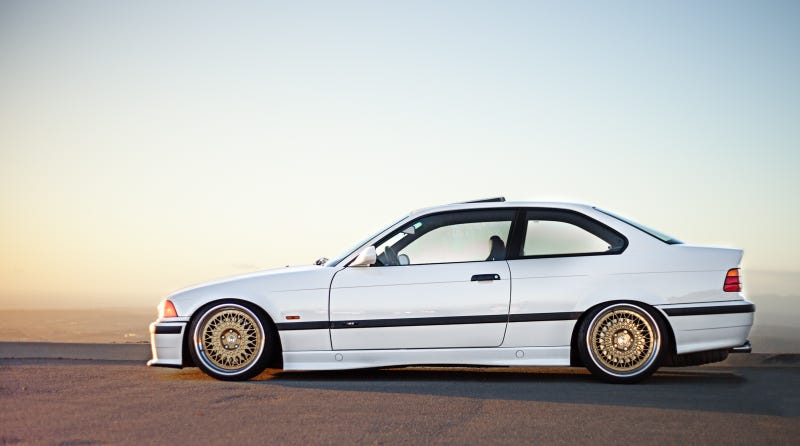 Illustration for article titled M is for Monday: E36 M3 is Solid Gold