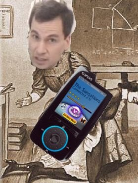 Illustration for article titled NYT Pulp Watch: Pogue Spanks Sansa's Connect for Lame Yahoo! Connection