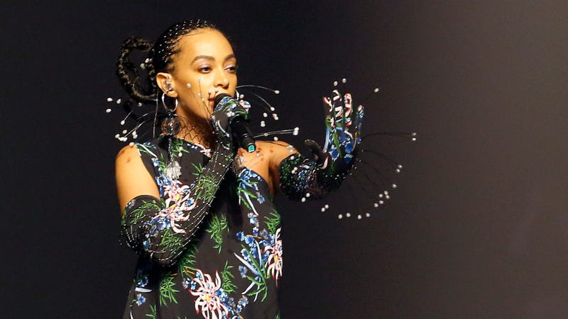 Solange Knowles performs on the runway during the Kenzo Menswear Spring Summer 2020 show on June 23, 2019 in Paris, France.