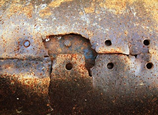 Some rusty metal courtesy of a google search