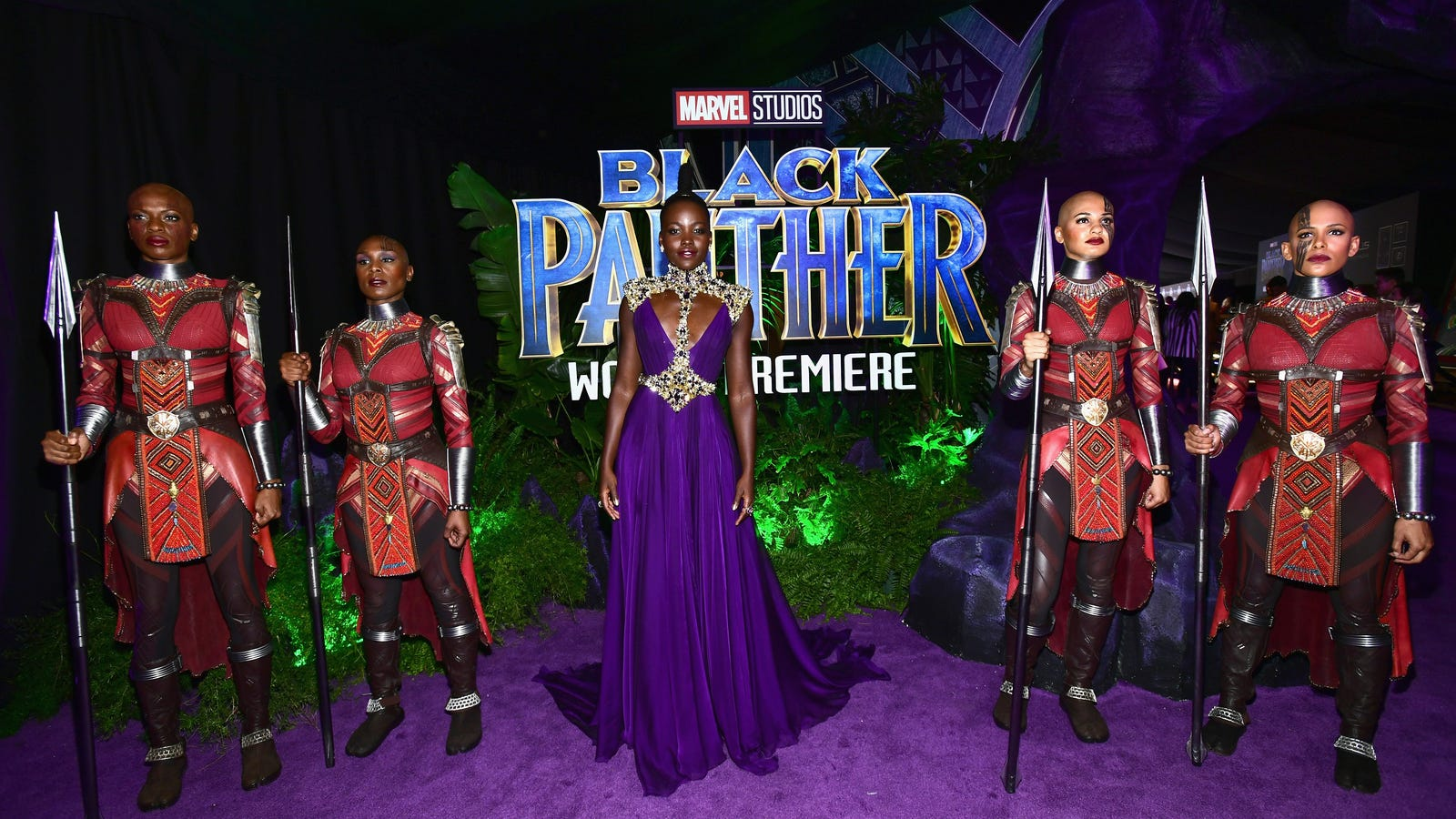 The Blackest Red Carpet Ever Black Panther Premiered Last