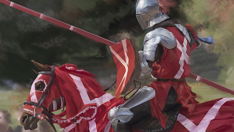 Illustration for article titled Now Face My Champion, Sir Roderick of Muddlestone