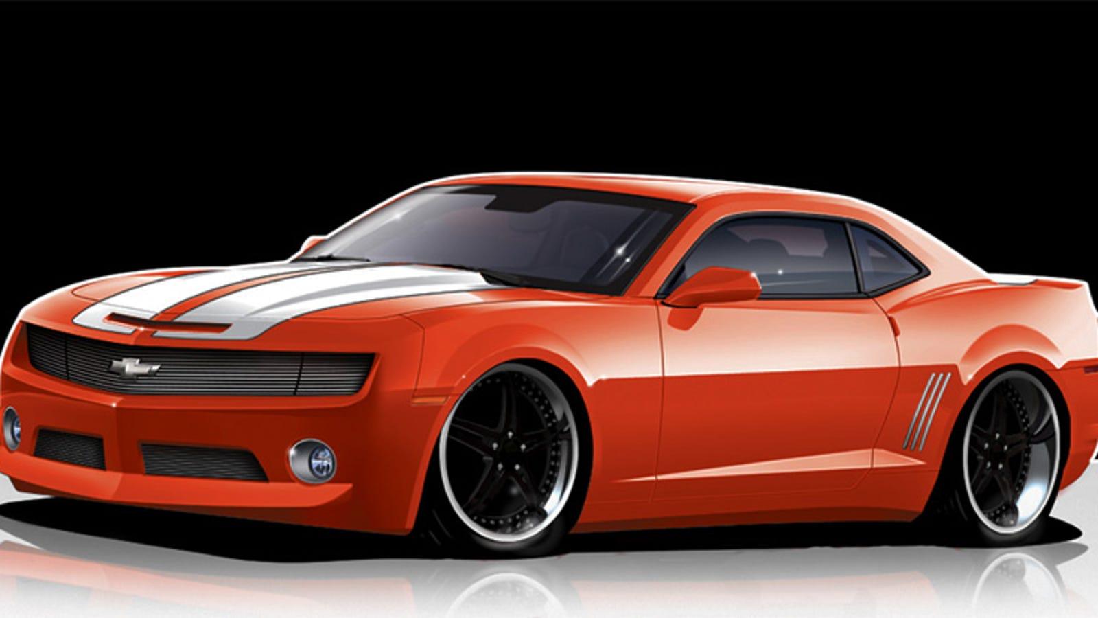 Fesler Moss Builds A Corvette Zr1 Powered Camaro Ss