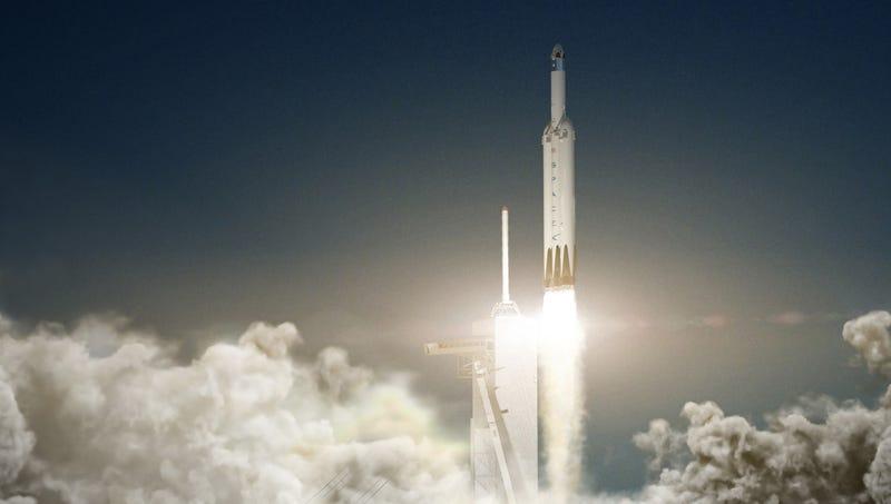 Lanzamiento del cohete gigante para llegar a Marte — NASA