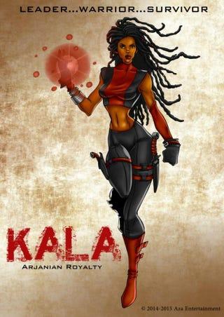 Kala, character from Aza ComicsAza Comics