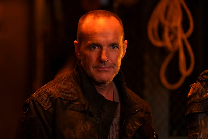Clark Gregg as... well, we're not totally sure.