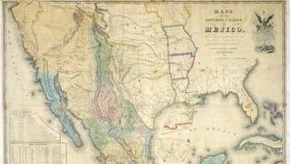 Mapa de los Estados Unidos de MéjicoJ. Distrunell/Wikimedia Commons