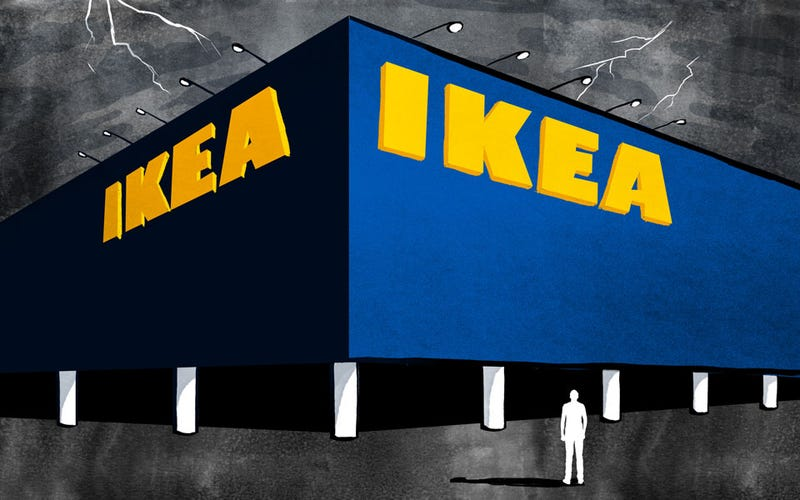 Illustration for article titled I Went to the Place Where There Is Nothing But IKEA