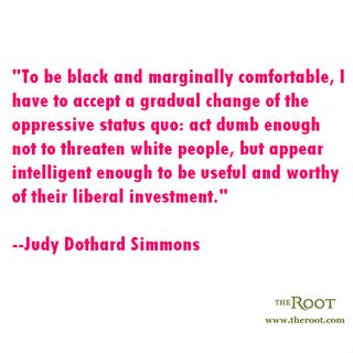 Illustration for article titled Quote of the Day: Judy Dothard Simmons on Code-Switching
