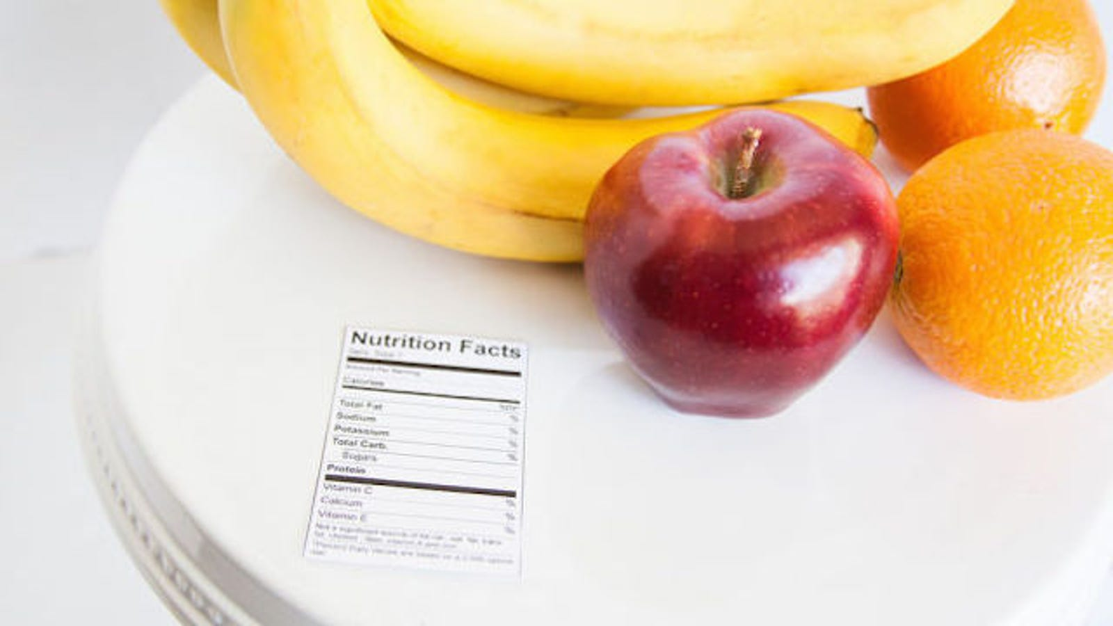 Nutrition Information Isn't 100% Accurate   but Don't Worry