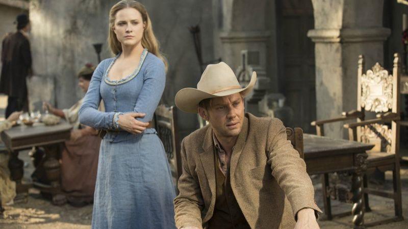 Evan Rachel Wood and Jimmi Simpson (Photo: Westworld/HBO)