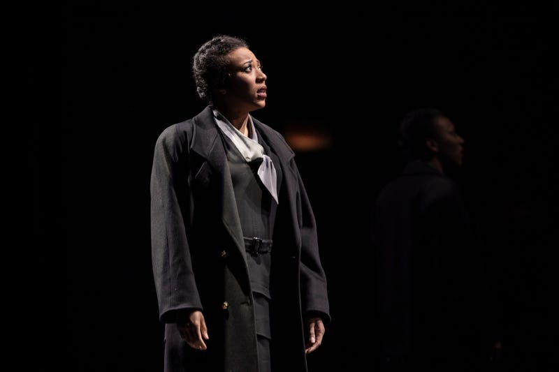 Christiana Clark as Paulina in the Goodman Theatre's production of The Winter's Tale.
