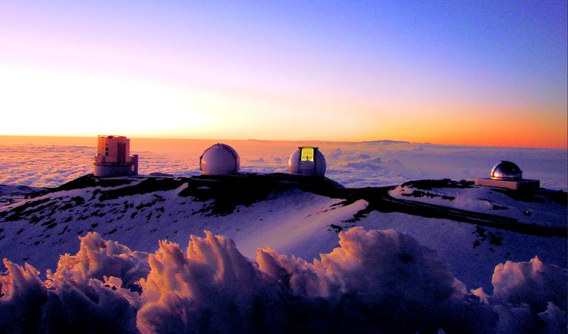 Illustration for article titled Construction Permits Revoked on the Thirty-Meter Telescope in Hawaii