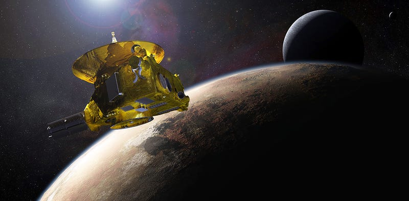 Illustration for article titled La sonda New Horizons toma la primera imagen de la superficie de Plutón
