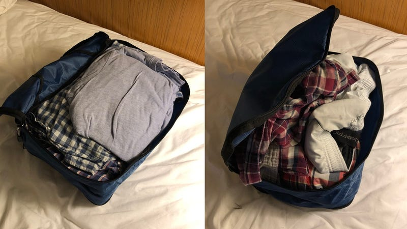 Illustration for article titled Double Sided Packing Cubes Are My New Favorite Travel Accessory