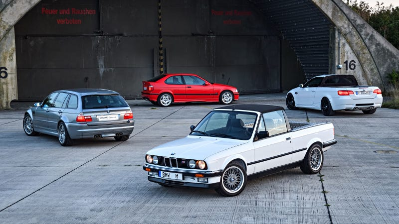 I'm not saying this is my answer, but it is a photo of four cars I like.