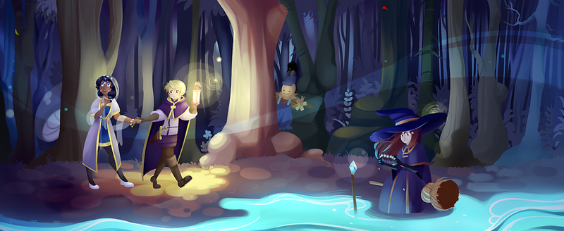 Illustration for article titled An Aspiring Knight Must Solve The Mystery Of Her Brother's Disappearance