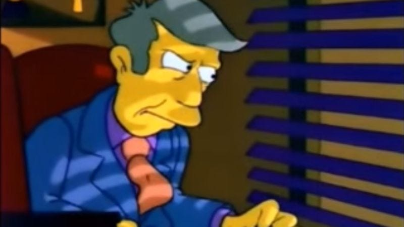 Flash back to 'Nam with Principal Skinner