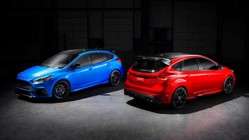 Illustration for article titled Now Is Your Chance To Buy The Final And Best Ford Focus RS