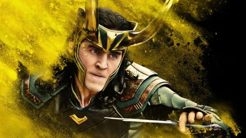 Loki won't need his Asgardian armor where he's going.