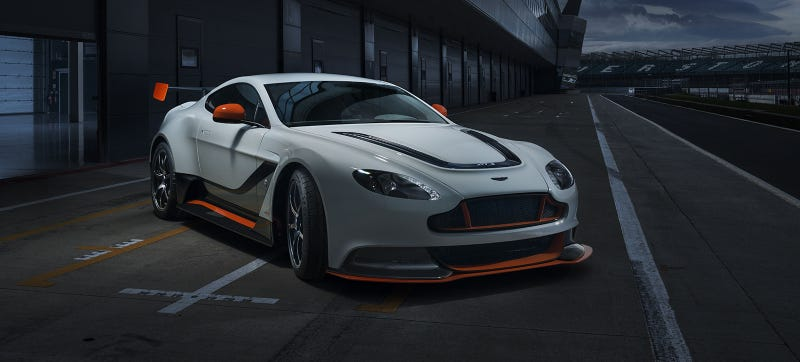 The Aston Martin Vantage GT3 The Ultimate V12 Lightweight