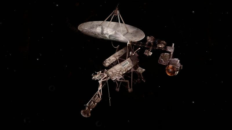 Illustration for article titled Voyager Probe Badly Damaged After Smashing Into End Of Universe