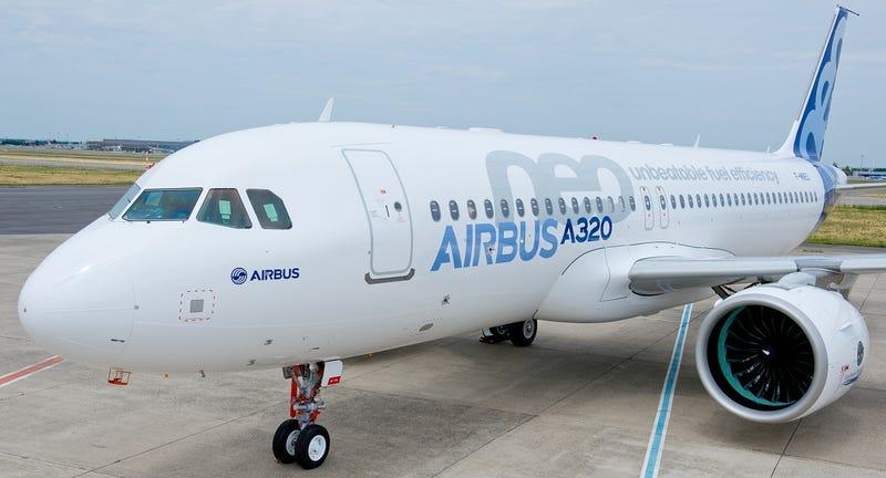 Illustration for article titled El primer Airbus A320neo, rival del Boeing 737, ya está listo para volar