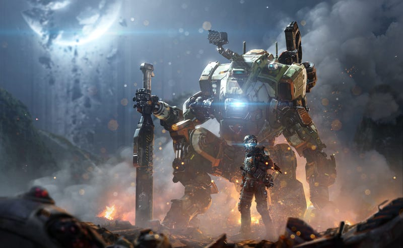 Illustration for article titled Titanfall's Mechs Still Look Great