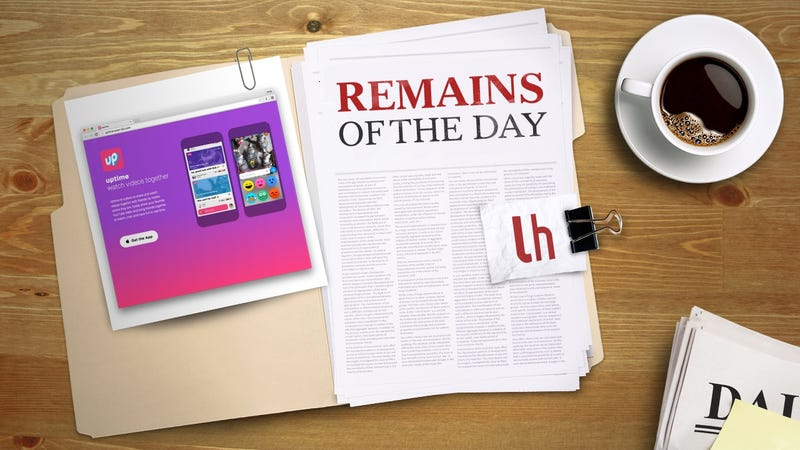 Illustration for article titled Remains of the Day: Uptime by Google Lets You Watch Videos With Friends