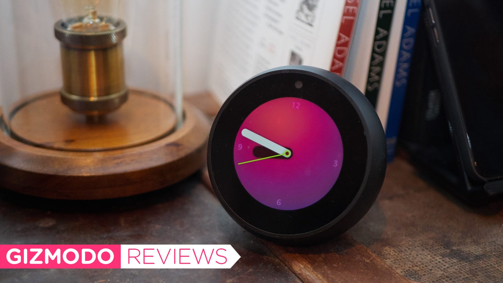 Amazon's Echo Spot Is a Good-as-Hell Alarm Clock