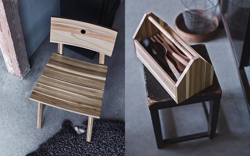 Ikea S New Solid Wood Furniture Is Beautifully