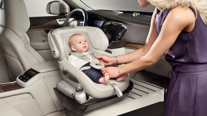 Illustration for article titled This Is Volvo's Idea Of The World's Most Resplendently Luxurious Baby