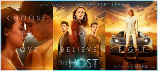 Illustration for article titled The Host Promo Posters
