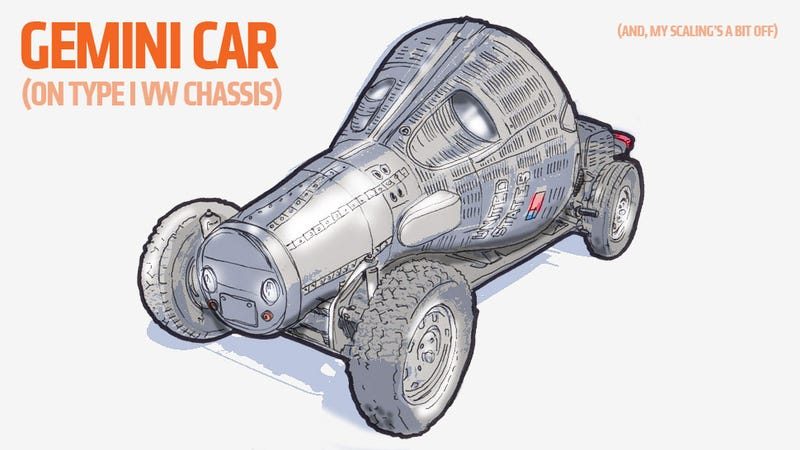 Illustration for article titled This Is The Best Actual Spaceship To Make Into A Car