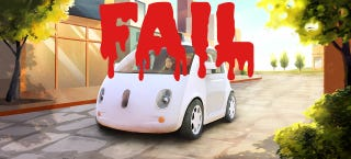 Illustration for article titled ​Why Google's Self-Driving Car Will Fail