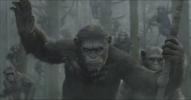 Illustration for article titled How the new Planet of the Apes movie fits into the series timeline