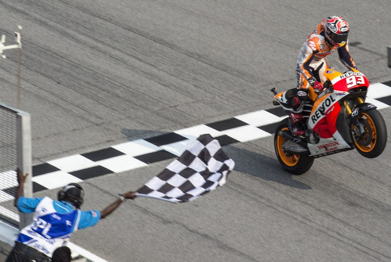 MotoGP's Marc Marquez will be much easier to keep up with...for those of us at home. Getty Images photo.